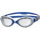 Zoggs Predator Flex duikbrillen blauw/zilver